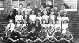 Photo:Addiewell Primary around 1953/54.