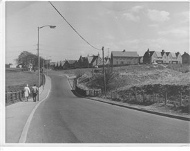 Photo:Meadowhead place taken from the top of Scollie Brae 1969.