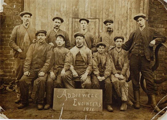 Photo: Illustrative image for the 'Addiewell Engineers 1911' page
