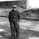 Photo:Micky Meichan, lamp cabin man at Loganlea Colliery.