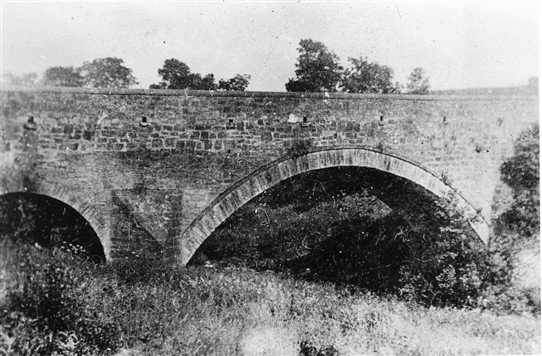 Photo:The old Cuthill Bridge