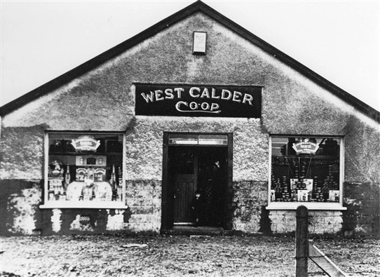 Photo:Loganlea Rows also had a branch of the West Calder Co-op